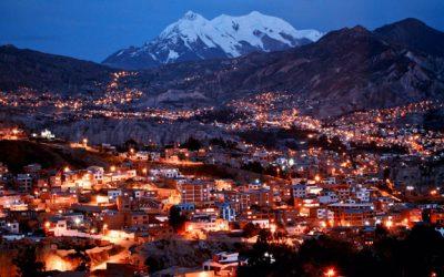 foto de La Paz a noite