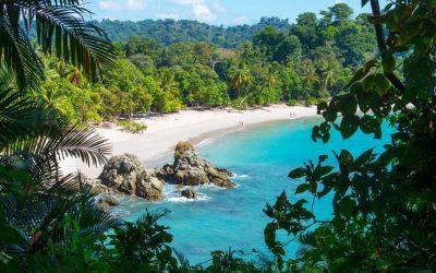 foto de praia na Costa Rica