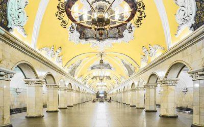 foto de estação russa