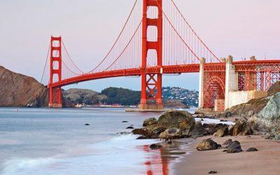 foto da ponte de São Francisco