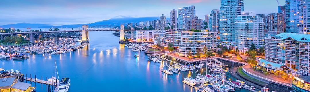 Vista de British Columbia